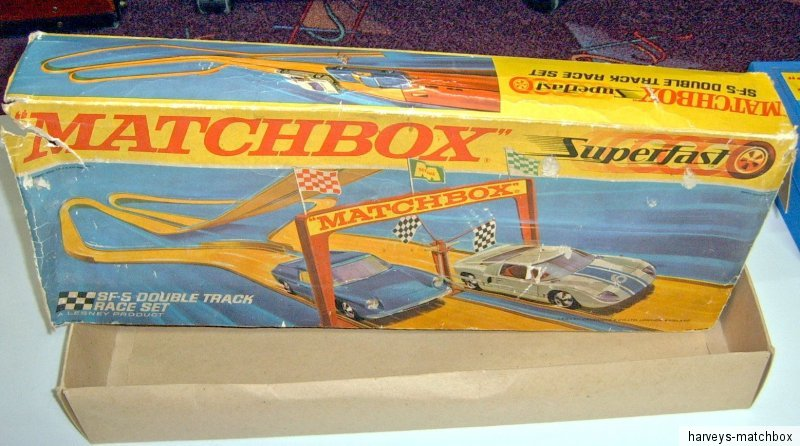 Matchbox superfast sf 5 double track set leere boxruine ebay for Fast set gartenpool xxl
