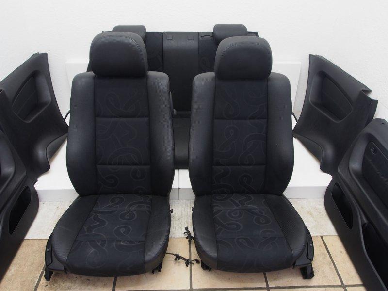 bmw e46 compact sitze kunstleder kunstledersitze ebay. Black Bedroom Furniture Sets. Home Design Ideas