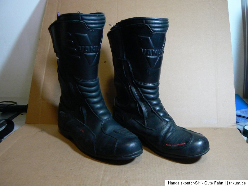 vanucci vtb 1 touring stiefel boots echtleder wasserdicht. Black Bedroom Furniture Sets. Home Design Ideas