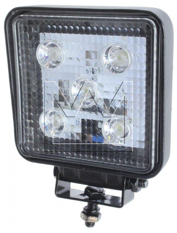 monark premium 5 led working lights 12v 24v 1200 lumen e test mark work lamp ebay. Black Bedroom Furniture Sets. Home Design Ideas