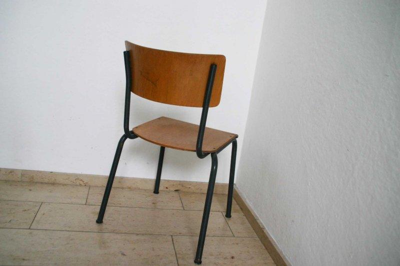 1x alter werkstattstuhl industriedesign vintage stahlrohr for Stuhl industriedesign