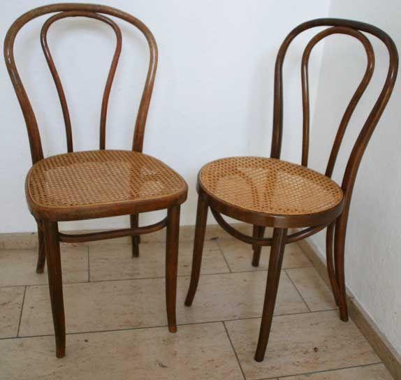 2x alter bugholz stuhl zum restaurieren vintage kaffeehaus wiener geflecht ebay. Black Bedroom Furniture Sets. Home Design Ideas