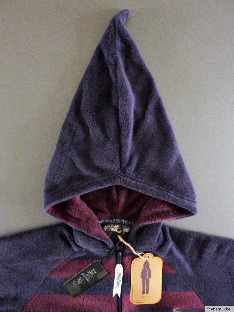 neu harry potter fleece jumpsuit s m l xl schlafanzug onesie einteiler primark ebay. Black Bedroom Furniture Sets. Home Design Ideas