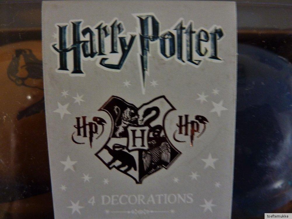 neu harry potter 4 xxl weihnachtskugeln christbaumkugel. Black Bedroom Furniture Sets. Home Design Ideas