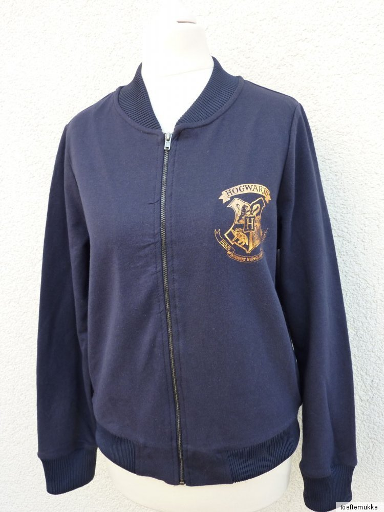 neu harry potter collegejacke damen jacke 34 48 hogwarts quidditch primark ebay. Black Bedroom Furniture Sets. Home Design Ideas