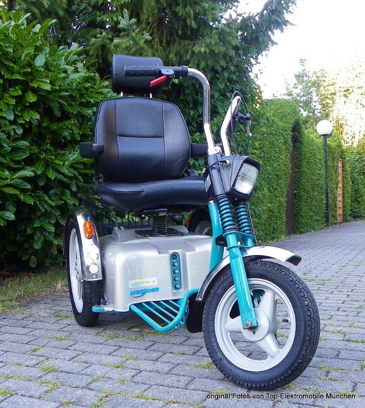 weileder sportster se elektromobil 15 km h gebraucht. Black Bedroom Furniture Sets. Home Design Ideas