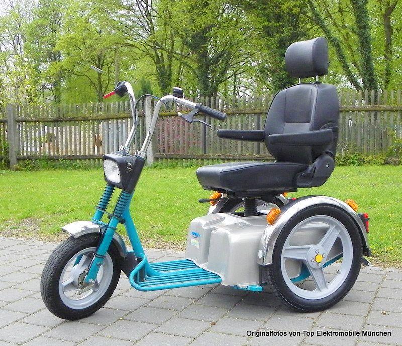 elektromobil scooter shopper weileder sportster se 15 km h. Black Bedroom Furniture Sets. Home Design Ideas