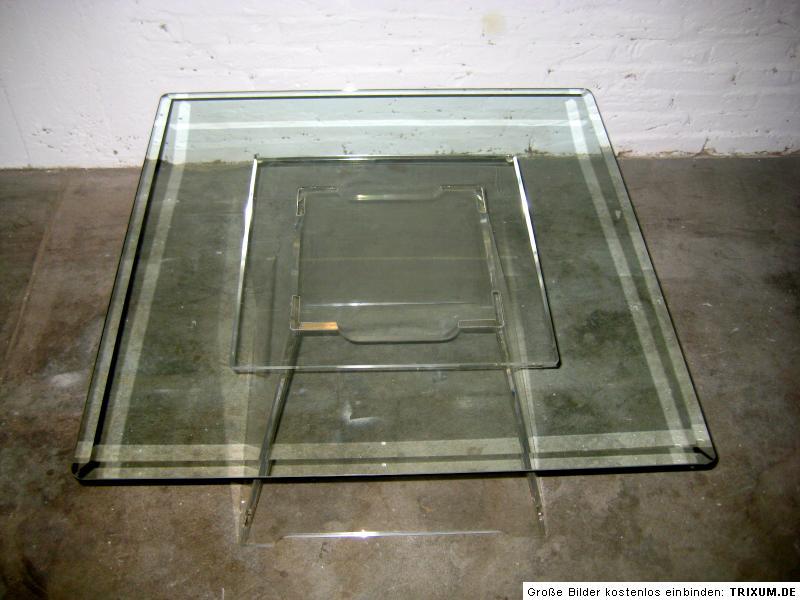plexiglas tisch 70er jahre berlin sofatisch couchtisch ebay. Black Bedroom Furniture Sets. Home Design Ideas