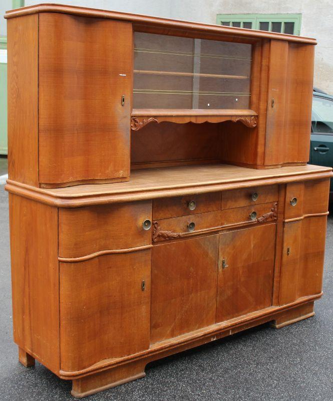 sch nes altes k chenbuffet b ffet 1950 zum anrichten oder shabby umgestalten. Black Bedroom Furniture Sets. Home Design Ideas