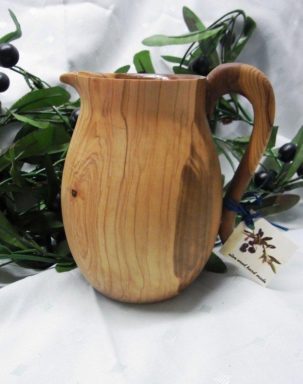 olivenholz krug handarbeit oliven l baum holz ca durchmesser 15 cm ebay. Black Bedroom Furniture Sets. Home Design Ideas