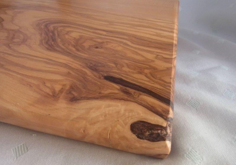 olivenholz gro es brett xl oliven l baum holz ca 48 5 x 22 x 1 2 cm lx3. Black Bedroom Furniture Sets. Home Design Ideas