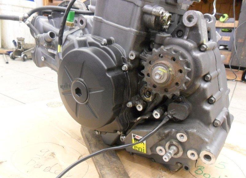 Motor aprilia caponord 1200 engine 2013 1a ohne for Ebay motors shipping cost