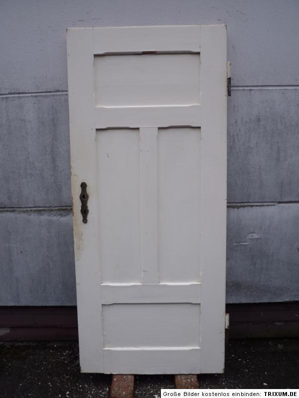 alte t r zimmert r kassettent r holzt r antik old door ca 80 0 x184 0 cm ebay. Black Bedroom Furniture Sets. Home Design Ideas
