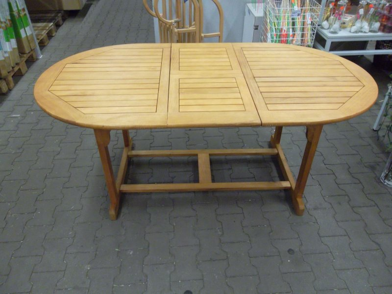 gartentisch balkontisch hartholz tisch arabella. Black Bedroom Furniture Sets. Home Design Ideas