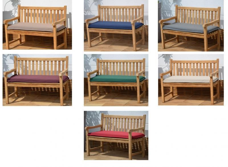 luxus bankauflage rei verschluss 7 farben bank kissen bank kissen waschbar ebay. Black Bedroom Furniture Sets. Home Design Ideas