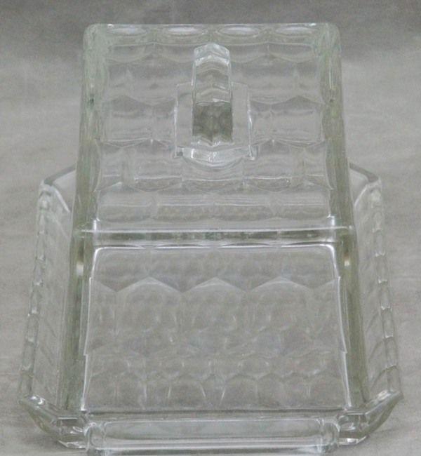 k seglocke butterglocke butterdose aus glas jugendstil ebay. Black Bedroom Furniture Sets. Home Design Ideas