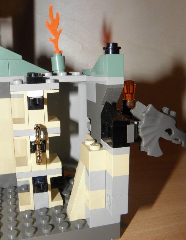 Lego harry potter 4729 dumbledores b ro dumbledore 39 s - Buro komplett set ...