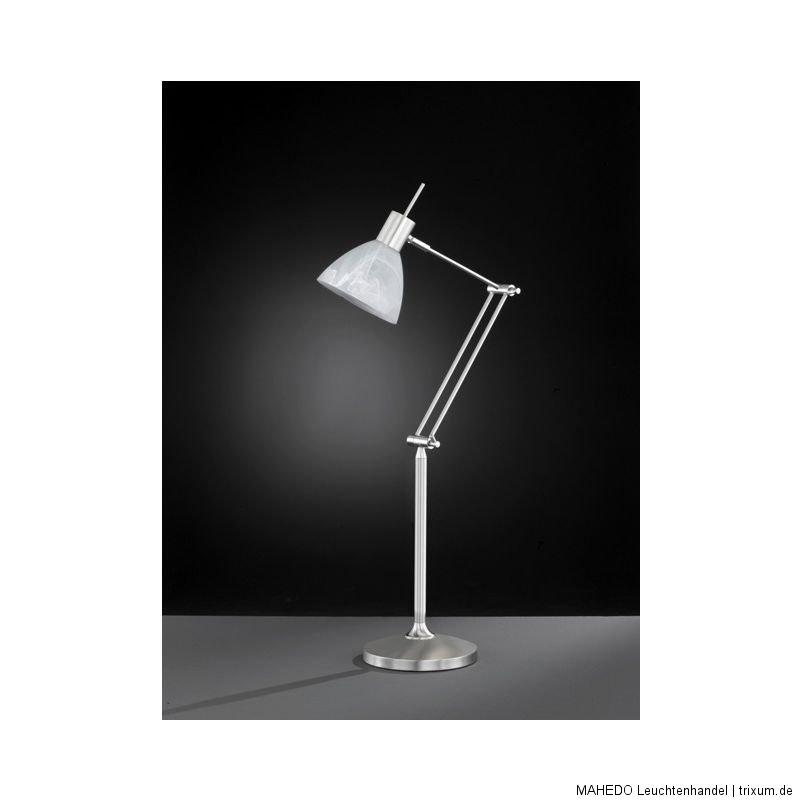 tischleuchte schreibtischleuchte schreibtischlampe wofi brandon sparlampe touch. Black Bedroom Furniture Sets. Home Design Ideas