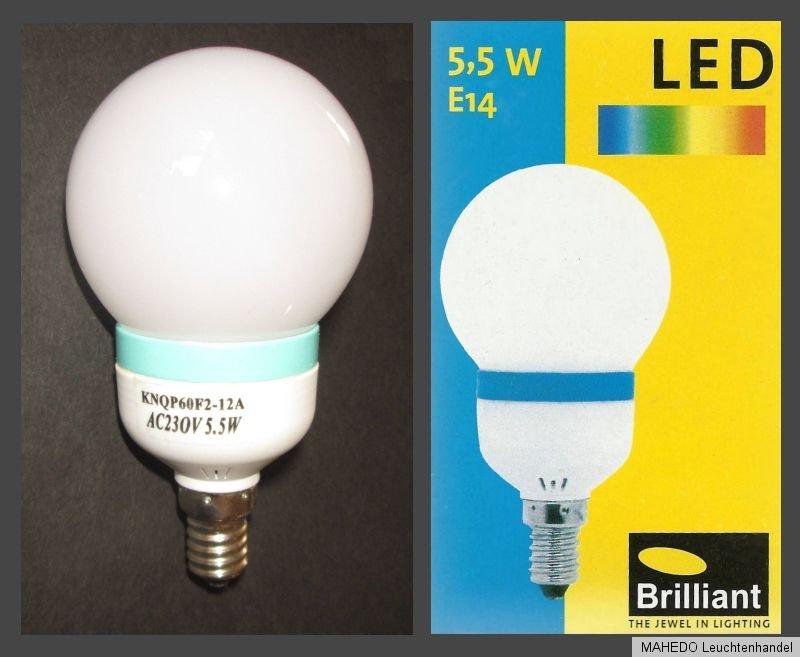 brilliant e14 led leuchtmittel globe lampe 230v 5 5w. Black Bedroom Furniture Sets. Home Design Ideas