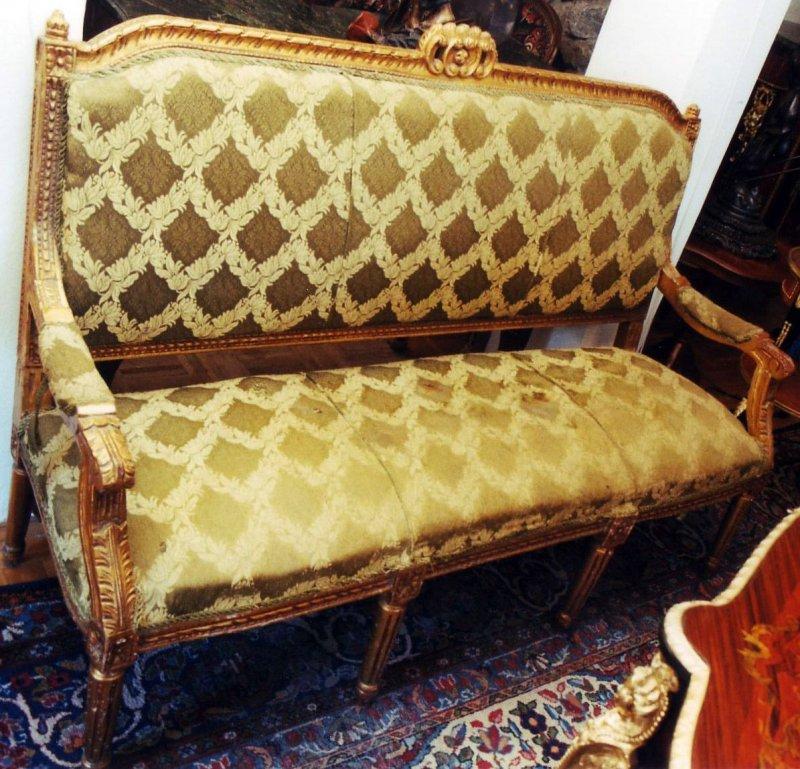 sofa garnitur set couch eiche thron sessel antik barock gotik renaissance. Black Bedroom Furniture Sets. Home Design Ideas