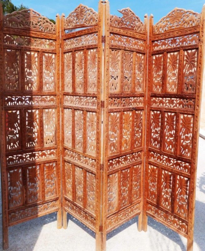 asia paravent spanische wand raumteiler antik asien china japan antique screen ebay. Black Bedroom Furniture Sets. Home Design Ideas