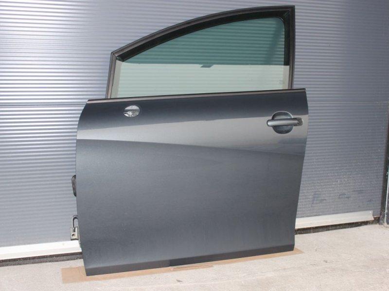 seat leon 1p t r vorne links linke t re vorn grau ls7z grauzenith 1p0831055a ebay. Black Bedroom Furniture Sets. Home Design Ideas