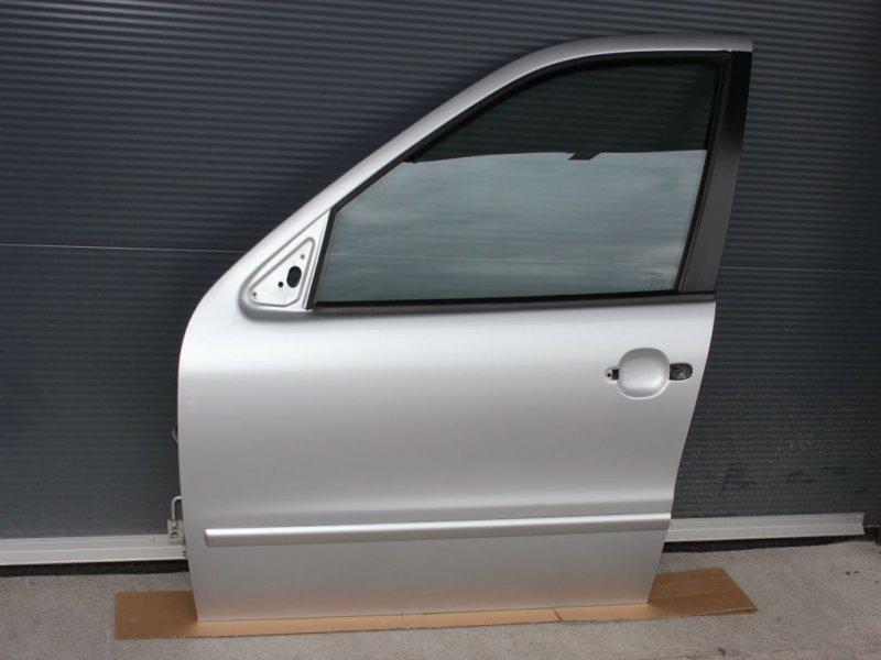 seat leon 1m toledo t r vorne links linke t re silber ls7n arktisgrau ebay. Black Bedroom Furniture Sets. Home Design Ideas