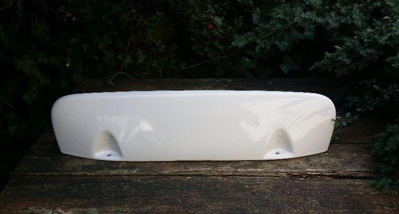 badablage konsole spiegelkonsole waschbeckenablage badezimmer porzellan wei ebay. Black Bedroom Furniture Sets. Home Design Ideas