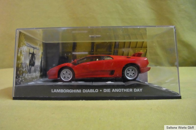 modellauto james bond 007 lamborghini diablo die another day 1 43 ebay. Black Bedroom Furniture Sets. Home Design Ideas