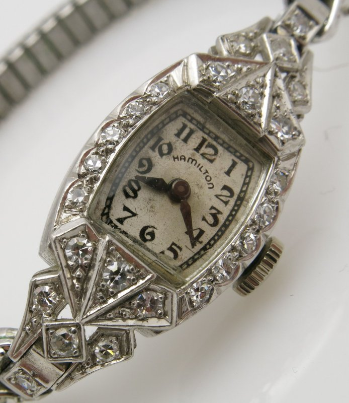 Lady Hamilton Vintage Damenuhr 1940-1949 Weigold