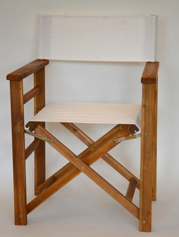 Regiestuhl gartenstuhl klappstuhl regiestuhl wei stuhl for Extra breiter sessel