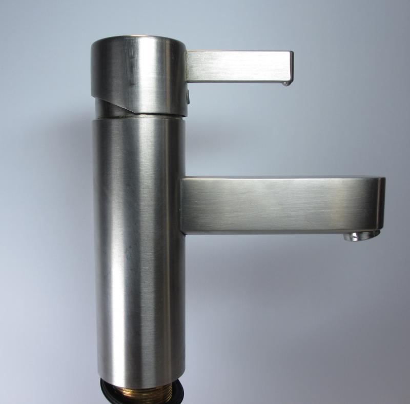 hansgrohe axor steel einhebel waschtischmischer edelstahl. Black Bedroom Furniture Sets. Home Design Ideas