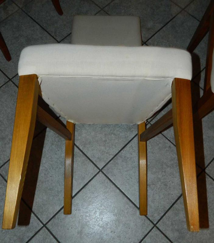 st hle 5 st ck heller bezug stuhl st hle f r hussen bez ge stabil ebay. Black Bedroom Furniture Sets. Home Design Ideas