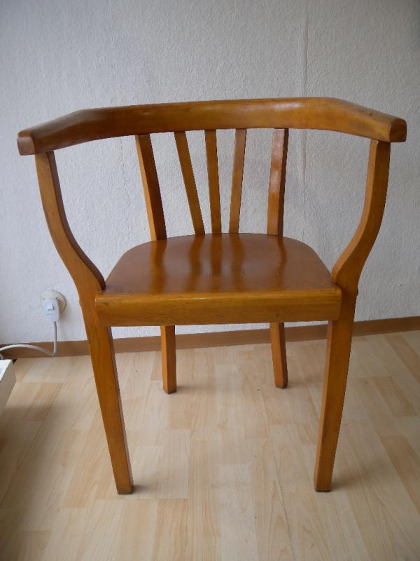 ausgefallener bauhaus gropius art deco armlehnstuhl stuhl schreibtischstuhl 20er ebay. Black Bedroom Furniture Sets. Home Design Ideas
