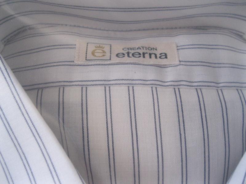 streifenhemd eterna 45 extra weit echt vintage herrenhemd. Black Bedroom Furniture Sets. Home Design Ideas