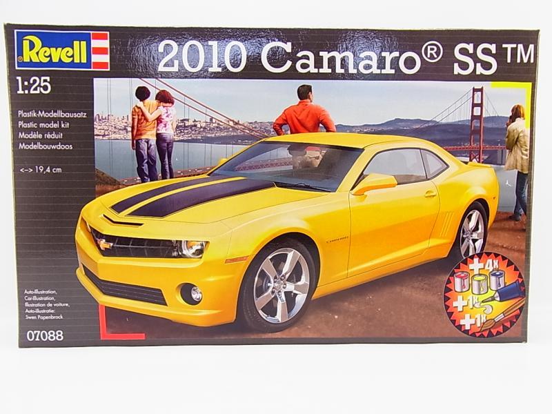 lot 33669 revell 07088 camaro ss 2010 pkw set mit farben. Black Bedroom Furniture Sets. Home Design Ideas