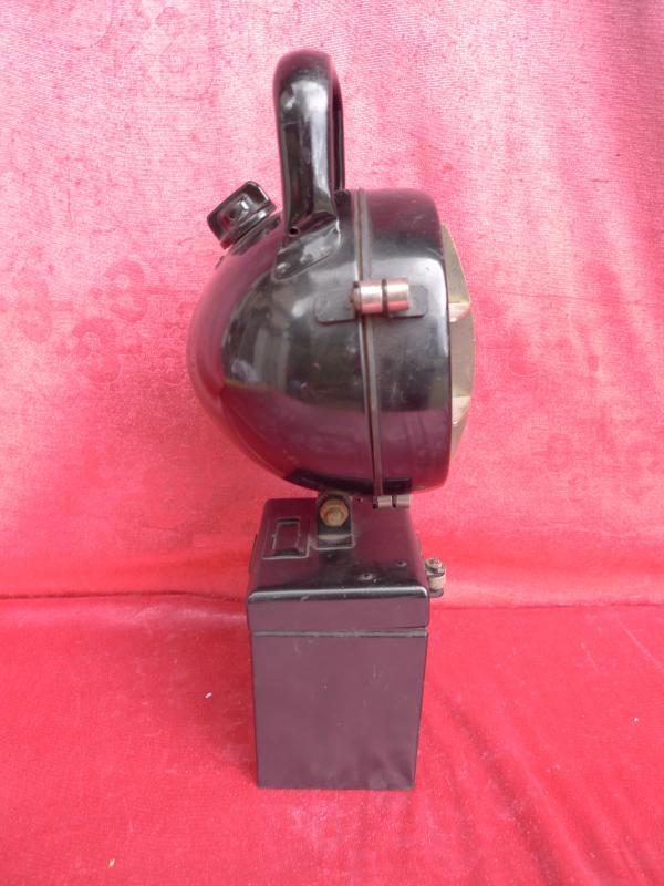 beau ancienne lampe lampe de chemin de fer 38cm ebay. Black Bedroom Furniture Sets. Home Design Ideas