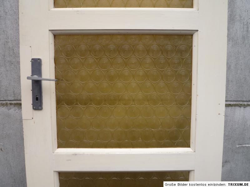 alte t r zimmert r holzt r mit glas antik old door ca. Black Bedroom Furniture Sets. Home Design Ideas