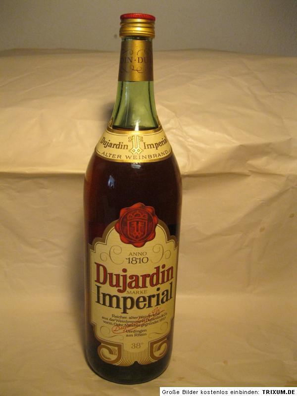 Alter weinbrand dujardin imperial 1810 38 1 liter for Dujardin imperial