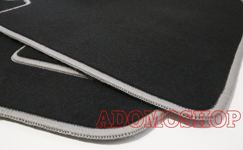 LKW Passform Fußmatten für MERCEDES ACTROS MP4 SCHMAL Lkw