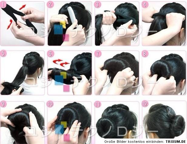 hair twister frisurenhilfe haar twister haarband schwamm dutt haardreher knoten ebay. Black Bedroom Furniture Sets. Home Design Ideas