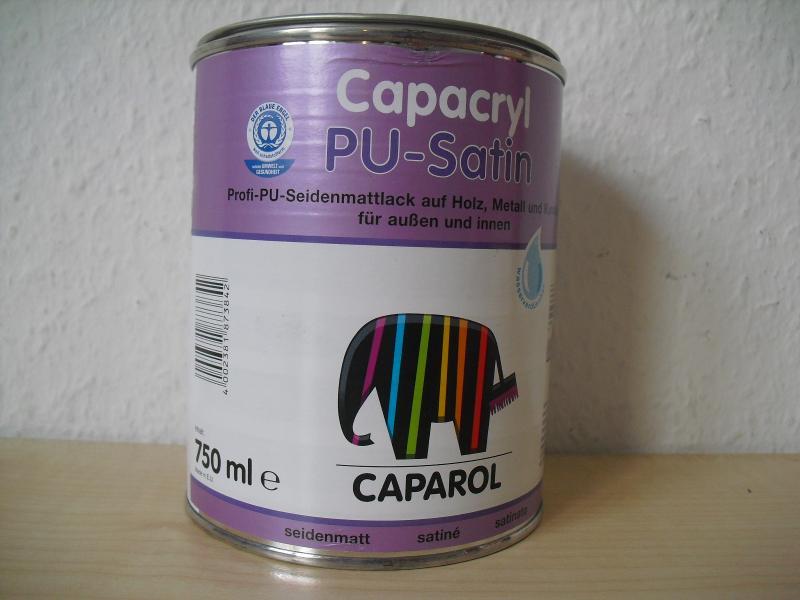 Caparol Capacryl PU-Satin Weiß / 0,375 L / 0,75 L