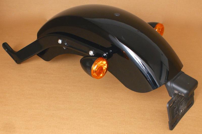 Harley Softail Fenders : Harley original heck fender rear heckteil schutzblech