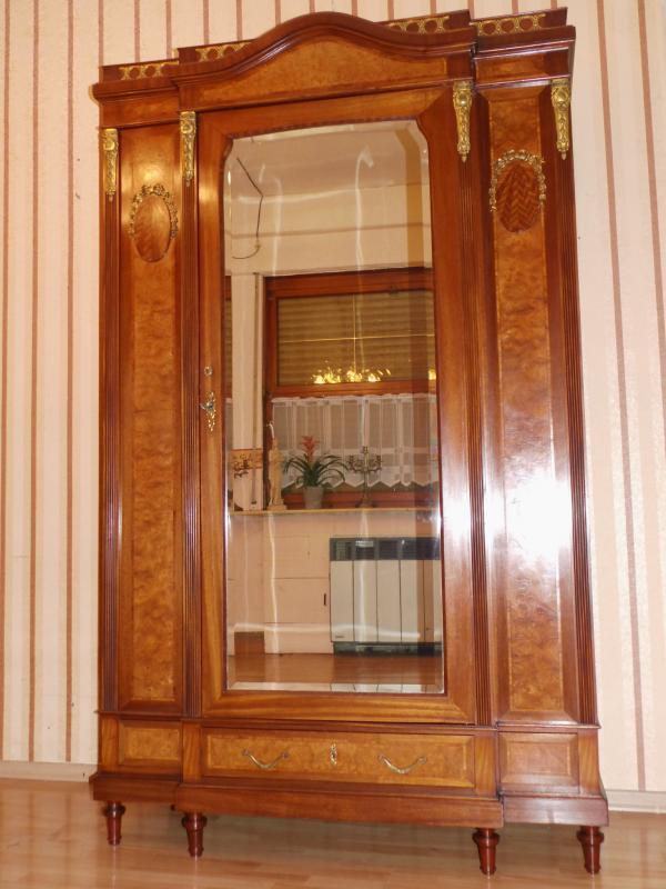 antik komplettes jugendstil schlafzimmer mahagoni 1910 top original zustand. Black Bedroom Furniture Sets. Home Design Ideas