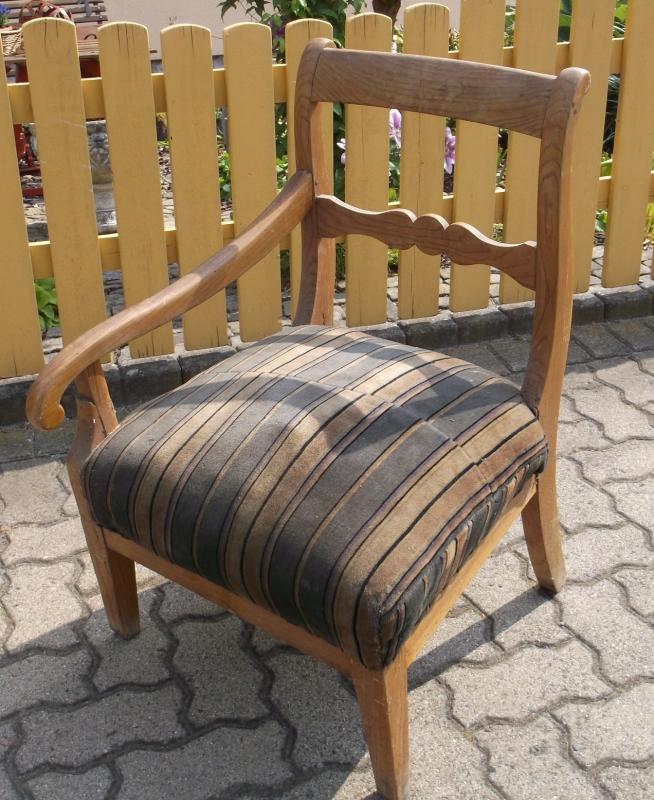 rarit t antiker biedermeier stuhl spinnstuhl spinner stuhl. Black Bedroom Furniture Sets. Home Design Ideas