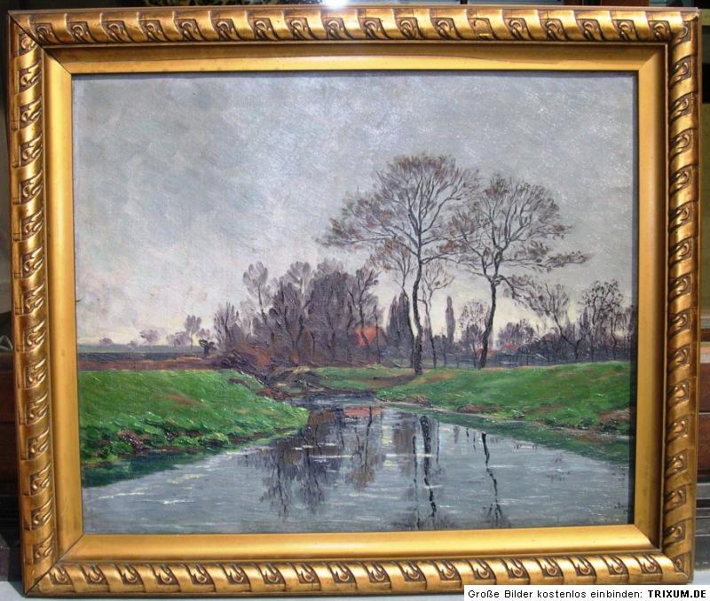 Ida Baumann 1864-1932 Herisau / beidseitiges Gemälde / signiert 1908 ...