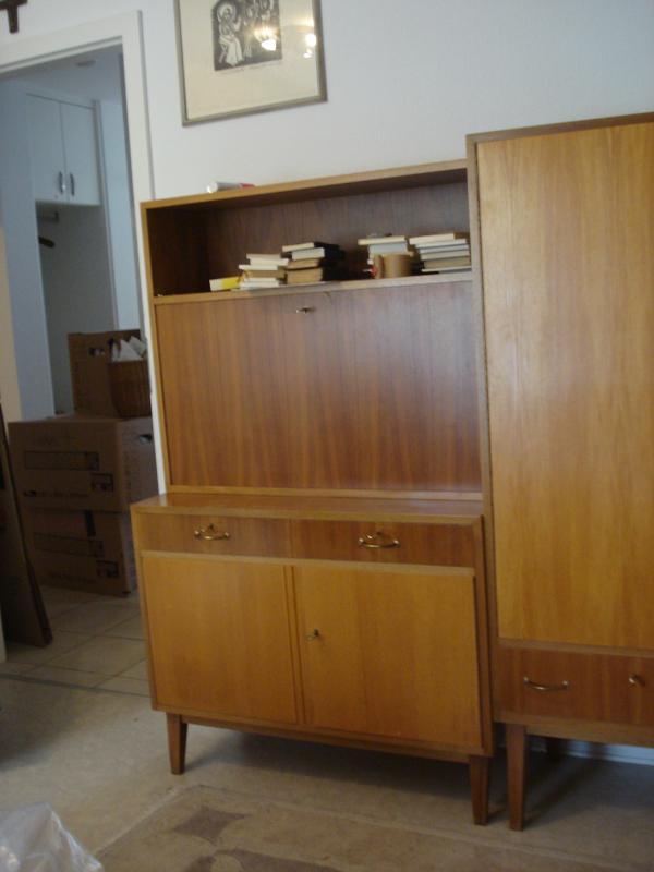 wk m bel sekret r schreibtisch georg satink 1962. Black Bedroom Furniture Sets. Home Design Ideas