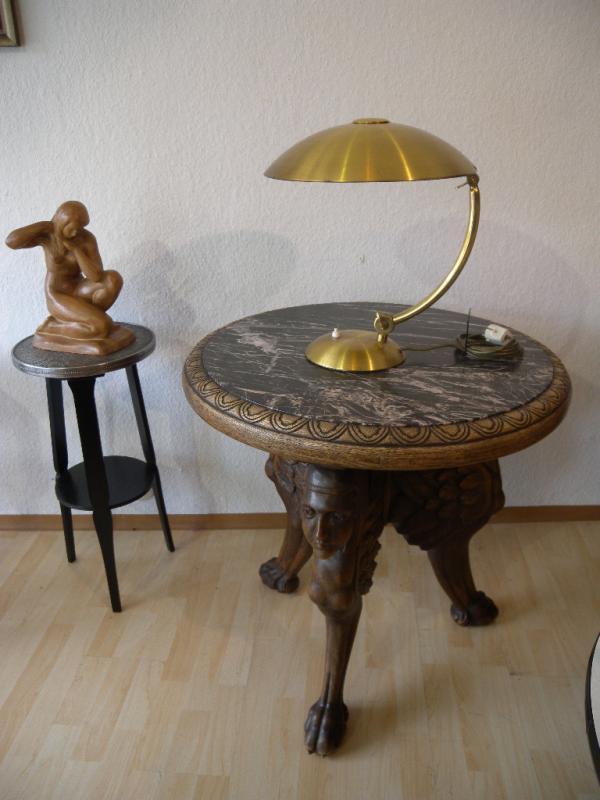 Hillebrand Präsident GLEIBO Messing Art Deco Schreibtischlampe Desk Lamp Lampe eBay