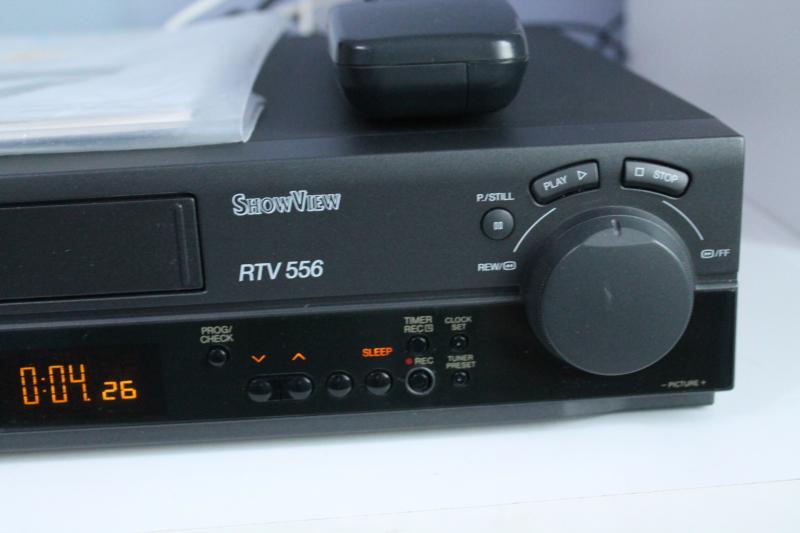 blaupunkt rtv 556 showview vhs videorecorder mit fernbedienung anleitung top ebay. Black Bedroom Furniture Sets. Home Design Ideas