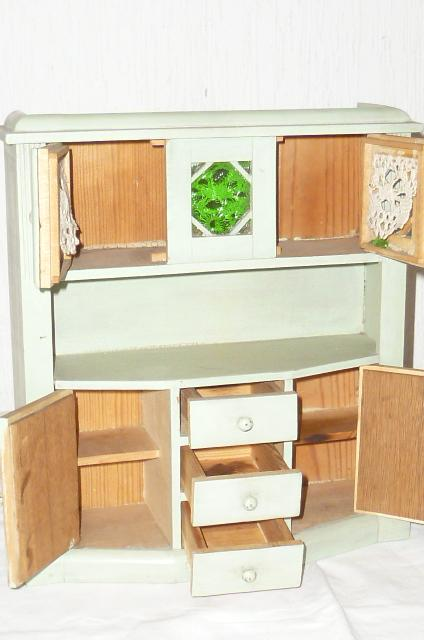 Antico delle bambole mobili casa camera armadio da cucina 1900 ebay - Larghezza mobili cucina ...